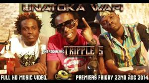 "A scene from the music video ""Unatoka Wapi"""