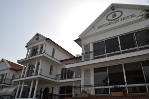 The Sovereign Hotel in Kisumu City. A good place to visit. #TembeaKenya.