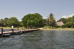Rusinga Island Lodge. While here you can also visit the Tom Mboya mausoleum. #TembeaKenya.