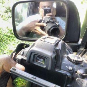 The camera behind the shots from the trip. #TembeaKenya.