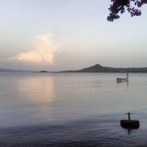 Sunrise on Lake Victoria at Lake Victoria Safari Village. #TembeaKenya.