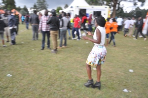 I loved her dressing. Quite unique. #Chebarbar 7s
